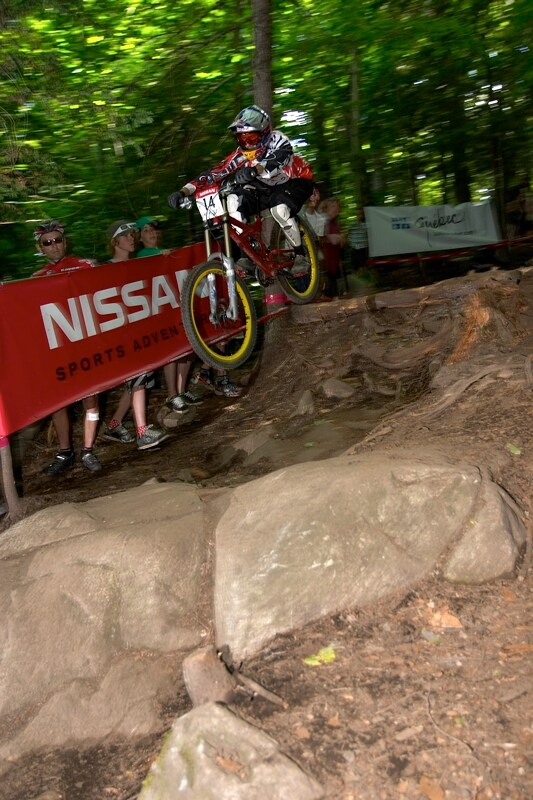 Nissan UCI MTB World Cup DH+4X #3, Mont St. Anne 24.6.'07 - Filip Polc