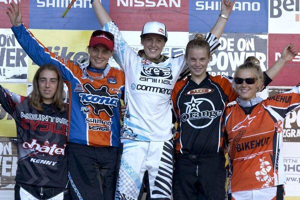 Nissan UCI MTB World Cup DH #5 - Maribor 16.9. 2007 - 1. Atherton, 2. Moseley, 3. Hannah, 4. Pugin, 5. Gaskell