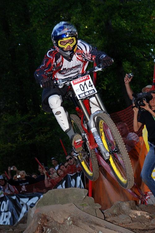 SP DH no.5 2007 - Filip Polc ve finálové jízdě