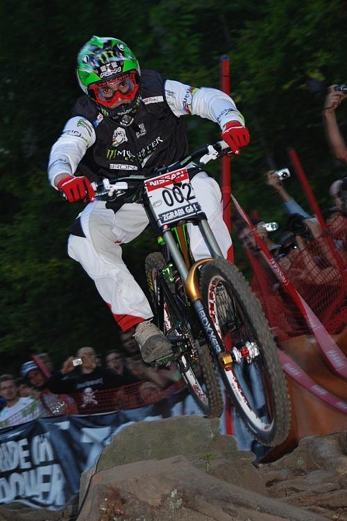 SP DH no.5 2007 - Samuel Hill ve finálové jízdě