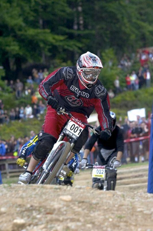 Nissan UCI MTB World Cup 4X #5 - Maribor 15.9. 2007 - Romain Saladini
