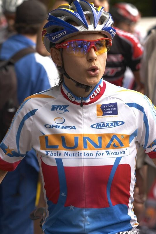 Nissan UCI MTB World Cup XC #5 - Maribor 15.9. 2007 - Kate�ina Nash v dresu mistryn� �R