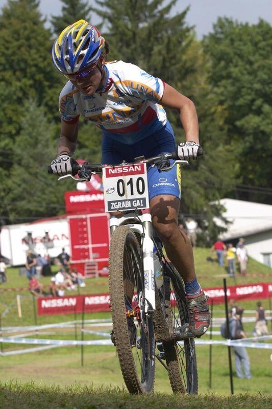 Nissan UCI MTB World Cup XC #5 - Maribor 15.9. 2007 - Katka Nash