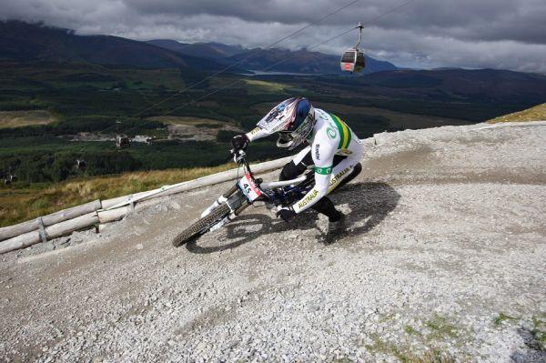 MS 2007 Downhill / Fort William Skotsko - Jared Rando