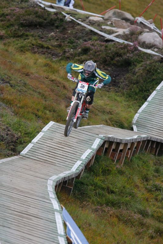 MS 2007 Downhill / Fort William Skotsko - Anka Martin