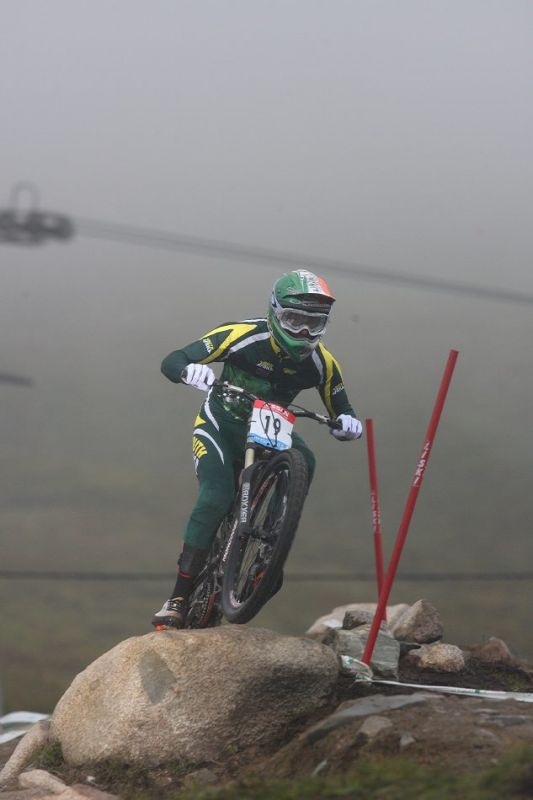 MS 2007 Downhill / Fort William Skotsko - Andrew Neethling
