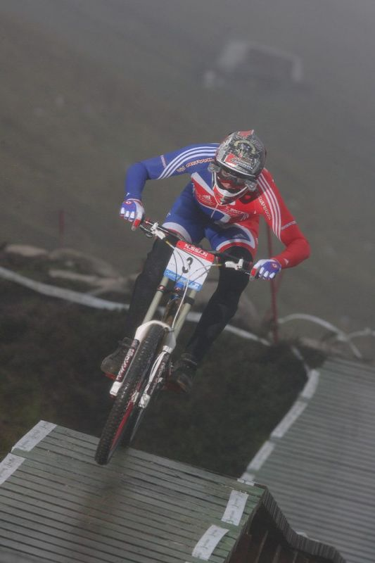 MS 2007 Downhill / Fort William Skotsko - Steve Peat