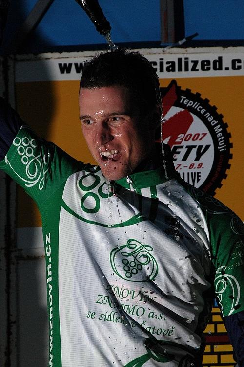 Sudety 2007 - Hakl vyhrává Znovín Znojmo Český pohár v MTB maratonu 07