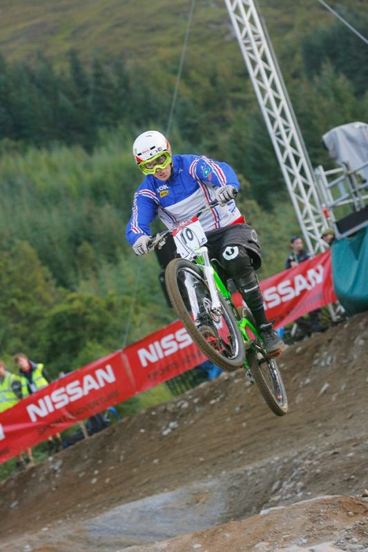 MS 2007 4X - Fort William Cedric Gracia