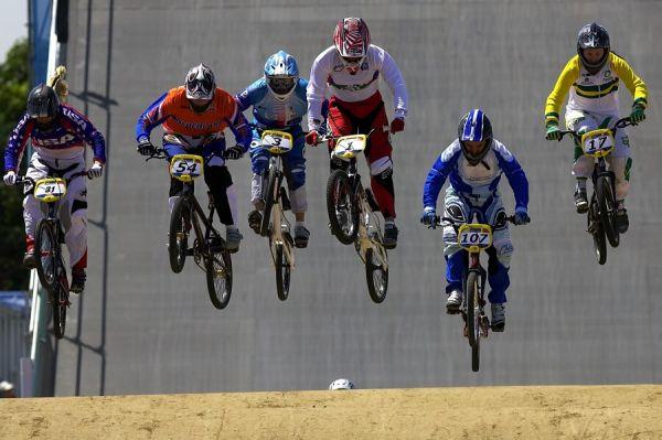 SP UCI BMX Supercross, 20.-21.8. 2007 Peking/Čína - s č. 3 Jana Horáková