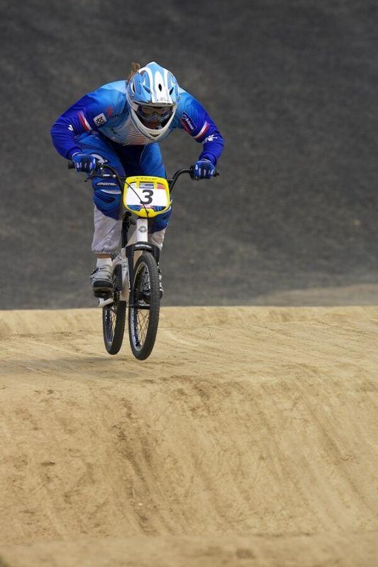 SP UCI BMX Supercross, 20.-21.8. 2007 Peking/Čína - Jana Horáková