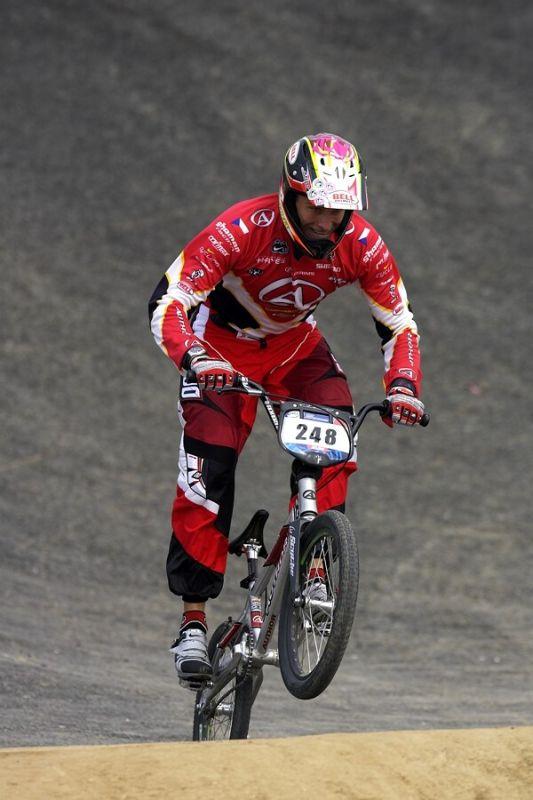 SP UCI BMX Supercross, 20.-21.8. 2007 Peking/Čína - Lukáš Tamme