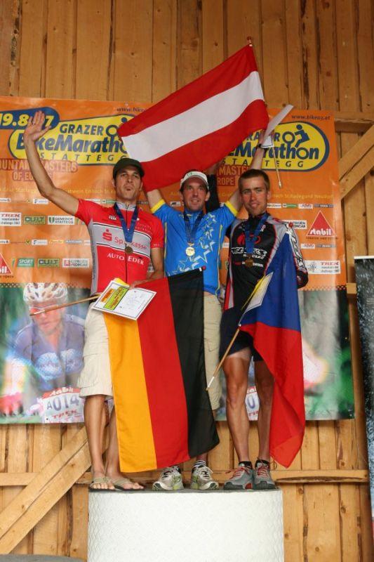 Mistrovství Evropy masters - Graz, 18.8. 2007, foto: Tomáš Gladiš