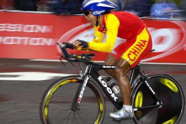 MS časovka mužů - Stuttgart 26.9. 2007 - Haijun Ma