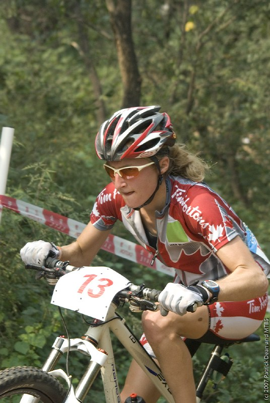 International Invitational MTB Competition - Peking, Čína 22.9. 2007, Catharine Pendrel, foto: Patrick Dean