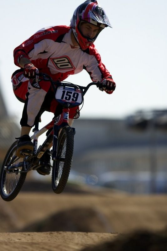 UCI BMX SuperX   13.-14.10. 2007 - Frejus, Francie - Michal Přibyl
