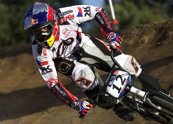 UCI BMX SuperX   13.-14.10. 2007 - Frejus, Francie - Michal Prokop