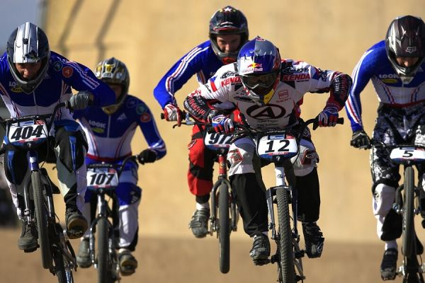 UCI BMX SuperX   13.-14.10. 2007 - Frejus, Francie - ostrý štýlo Michala Prokopa