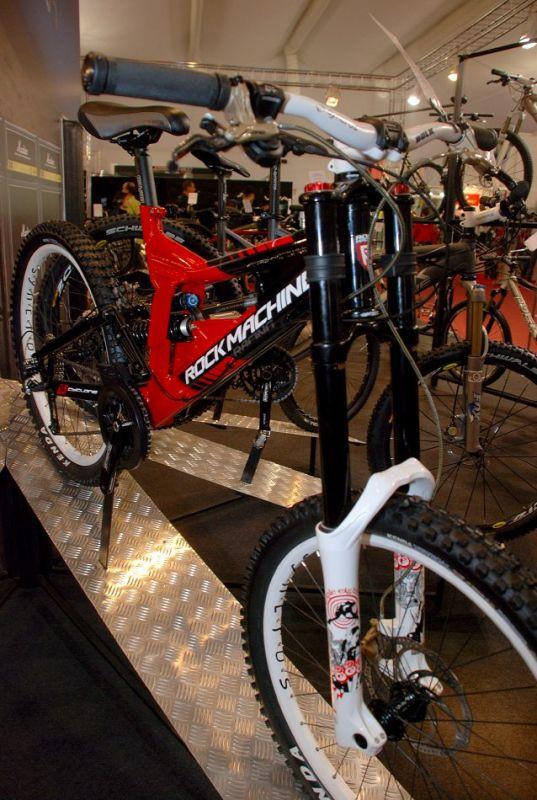Rock Machine 2008 - Eurobike 2007 galerie